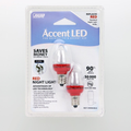 Feit C7 Red LED Light Bulb
