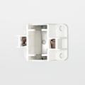 Satco 90-1545 GX23 2-Pin Vertical Screw Down Flourescent Lampholder