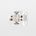 Satco 90-1549 13W 4-Pin Bottom Screw Vertical Mount Fluorescent Lampholder