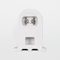 Satco 80-1499 Fixed T8 and T12 High Output Recessed DC Fluorescent Socket