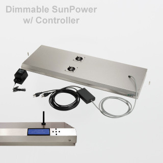 "ATI Dimmable SunPower High-Output T5 36"" Fixture (8x39W)"