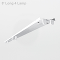 Howard FSR8 Fluorescent Retrofit Strip 4 Lamp 32W T8 (High Ballast Factor)