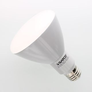 Satco Ditto BR30 10W 2700k Warm White LED Flood Lamp