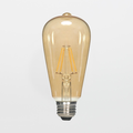 Satco S9272 6.5W ST19 LED Filament Lamp