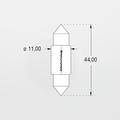 Orbitec S6424 (121730) 24V 210mA 11x44 Festoon Base