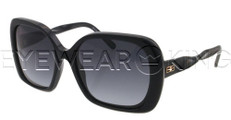 New Authentic Balenciaga Shiny Black Sunglasses Frame BAL 0143 807 Angle-1 | Eyewearking.com