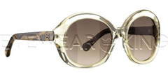 New Authentic Balenciaga Clear Beige Sunglasses Frame BAL 0123 057 Angle-1 | Eyewearking.com