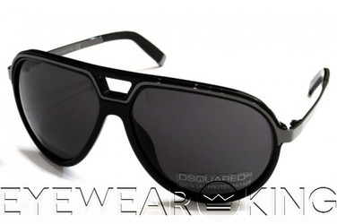 New Authentic DSquared2 Sunglasses Frame DQ 0060 01A