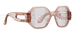 New Authentic Balenciaga Light Pink Sunglasses Frame BAL 0132 08Q Angle-1 | Eyewearking.com