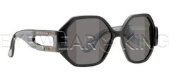New Authentic Balenciaga Matte Black Sunglasses Frame BAL 0132 08A Angle-1 | Eyewearking.com