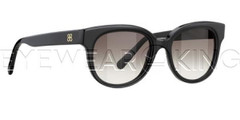 New Authentic Balenciaga Shiny Black Sunglasses Frame BAL 0137 807 Angle-1 | Eyewearking.com