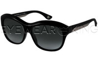 New Authentic Balenciaga Shiny Black Sunglasses Frame BAL 0098 UI5 Angle-1 | Eyewearking.com