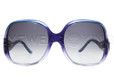 New Authentic Balenciaga Gradient Purple Sunglasses Frame BAL 0008 QFP Angle-2 | Eyewearking.com