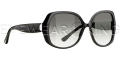 New Authentic Balenciaga Shiny Black Sunglasses Frame BAL 0095 ITH Angle-1 | Eyewearking.com
