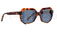 New Authentic Balenciaga Light Havana Sunglasses Frame BAL 0105 05L Angle-1 | Eyewearking.com