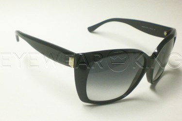 New Authentic Balenciaga Shiny Black Sunglasses Frame BAL 0081 807 Angle-1 | Eyewearking.com
