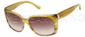 New Authentic Balenciaga Light Horn Yellow Sunglasses Frame BAL 0081 7Q1 Angle-2 | Eyewearking.com