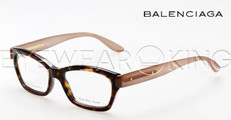 New Authentic Balenciaga Dark Havana Eyeglasses Frame BAL 0134 DAT Angle-2 | Eyewearking.com