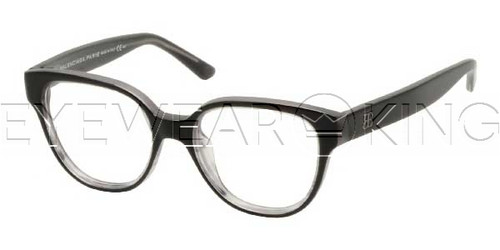 New Authentic Balenciaga Black Clear Eyeglasses Frame BAL 0118 XQC Angle-1 | Eyewearking.com