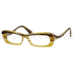 New Authentic Balenciaga Havana Yellow Horn Eyeglasses Frame BAL 0088 UI1 Angle-1 | Eyewearking.com