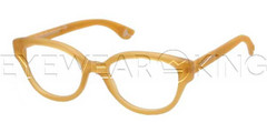New Authentic Balenciaga Orange Eyeglasses Frame BAL 0114 V9K Angle-1 | Eyewearking.com