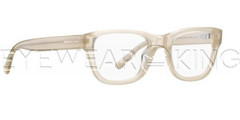 New Authentic Balenciaga Light Beige Eyeglasses Frame BAL 0119 LFM Angle-1 | Eyewearking.com