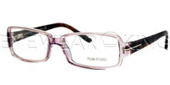 New Authentic Tom Ford Clear Purple Eyeglasses Frame TF 5185 080 Angle-1 | Eyewearking.com