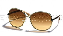 New Authentic Tom Ford Shiny Gold Sunglasses Frame TF 222 Leila 28A Angle-1 | Eyewearking.com