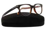 New Authentic Tom Ford Dark Brown Eyeglasses Frame TF 5148 050 Angle-1 | Eyewearking.com