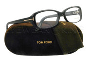 New Authentic Tom Ford Shiny Black Eyeglasses Frame TF 5213 001 Angle-1 | Eyewearking.com