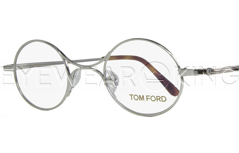 New Authentic Tom Ford TF 5172 018 Silver Eyeglass Frame | Eyewearking