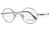 New Authentic Tom Ford Shiny Silver Eyeglasses Frame TF 5172 018 Angle-1 | Eyewearking.com