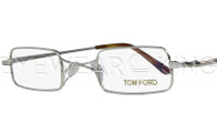 New Authentic Tom Ford Shiny Silver Eyeglasses Frame TF 5170 018 Angle-1 | Eyewearking.com
