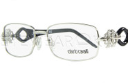 New Authentic Roberto Cavalli Shiny Silver Eyeglasses Frame RC 0550 016 Angle-1 | Eyewearking.com