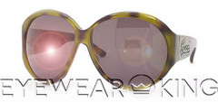 New Authentic Gucci Green Havana Sunglasses Frame 2927/Strass LGA | Eyewearking.com