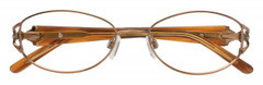 Clearvision Eyeglasses Model Layla Cafe (50mm)