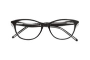 Ellen Tracy Eyeglasses Wellington- Black Crystal 52mm