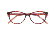 Ellen Tracy Eyeglasses Wellington- Tortoise 50mm