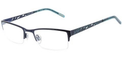 Ellen Tracy Eyeglasses Beijing - Navy 53mm