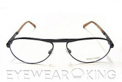 New Authentic Tom Ford FT 5127 Black (001) Aviator Metal Eyeglasses