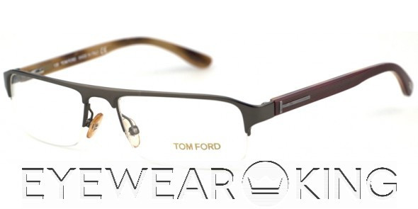 9752526f35 New Authentic Tom Ford FT 5079 (731) Shiny Anthracite Eyeglass Frame