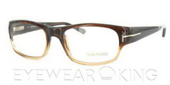 New Authentic Tom Ford Brown Eyeglass Frame FT 5042 T93