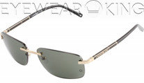 New Authentic Shiny Gold Sunglasses Frame Mont Blanc MB 269S 28N Angle-1 | Eyewearking.com