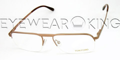 New Authentic Tom Ford Bronze Eyeglass Frame FT 5168 046