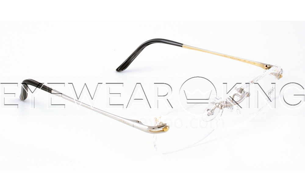 New Authentic FRED Coraile 001 F2 Silver Eyeglass Frame | Eyewearking