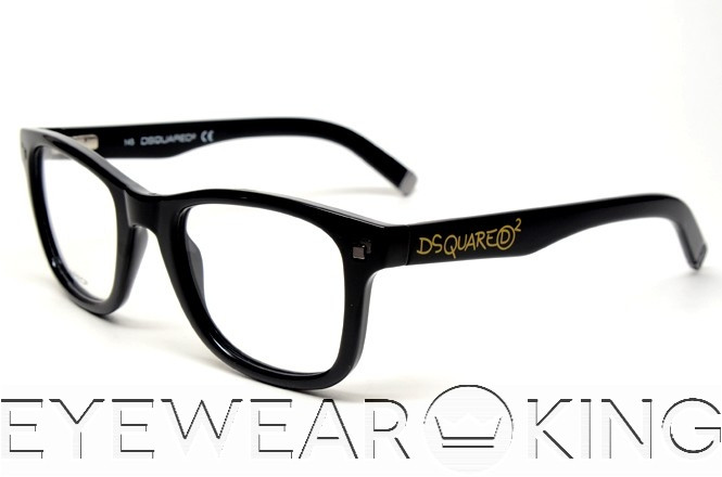 New Authentic DSquared DQ 5005 001 Eyeglass Frame | Eyewearking