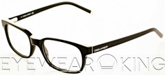New Authentic Shiny Black Eyeglasses Frame DSquared2 DQ 5024 001 Angle-1 | Eyewearking.com