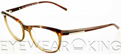 New Authentic Tortoise on Light Brown Eyeglasses Frame DSquared2 DQ 5033 056 Angle-1 | Eyewearking.com