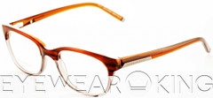 New Authentic Brown on Clear Eyeglasses Frame DSquared2 DQ 5041 65A Angle-1 | Eyewearking.com