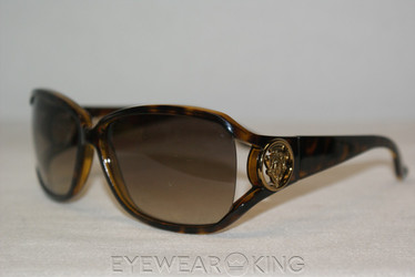 New Authentic Havana Gold Sunglasses Frame Gucci GG 3059 V08 Angle-1 | Eyewearking.com